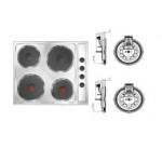 Электроконфорки к бытовым плитам <sup>2</sup>