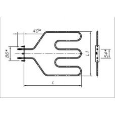 ТЭН 1200-1300 Вт 230 В для бытовой духовки
