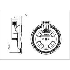 Конфорка для электроплиты ЭКЧ 180 800-2000 Вт 220 В