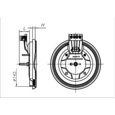 Конфорка для электроплиты ЭКЧ 145 700-1500 Вт 220 В
