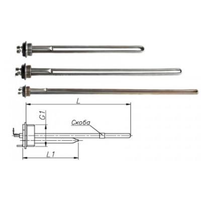 Блок-ТЭН 390-1300 Вт 230 В для алюминиевых батарей