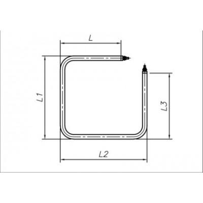 ТЭН 1200-1250 Вт 230 В для медицинского воздушного стерилизатора