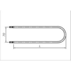 ТЭН 850-1400 Вт 230 В для медицинского воздушного стерилизатора