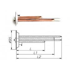 ТЭН для бойлера Thermex 1000-2500 Вт 230 В на фланце 95 мм