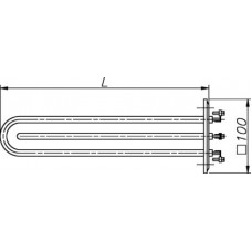 Блок-ТЭН 4500-6000 Вт 230 В для котла электрического Титан