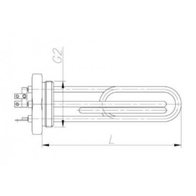 Блок-ТЭН 7500-15000 Вт 230/380 В для котла электрического