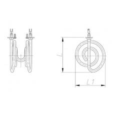ТЭН 600-2000 Вт 230 В для канальной вентиляции