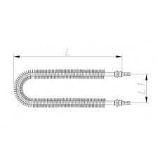 ТЭН 600-5000 Вт 230/380 В с оребрением